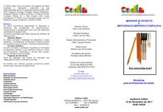 Direção Clínica: Nuno Lobo Antunes Direção Científica: Carlos  Nunes Filipe