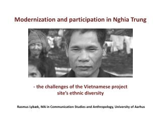 Modernization and participation in Nghia Trung