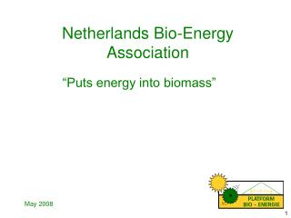 Netherlands Bio-Energy  Association