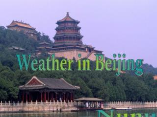 Weather in Beijing