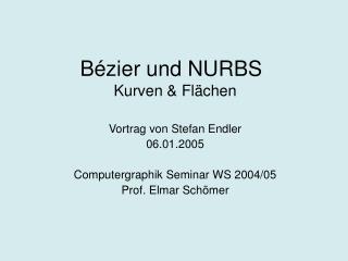 Bézier und NURBS