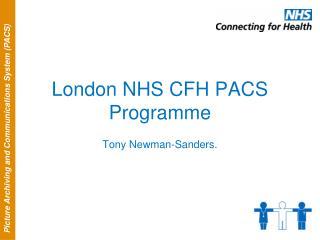 London NHS CFH PACS Programme
