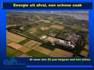 Energie uit afval, een schone zaak