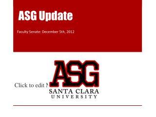 ASG Update