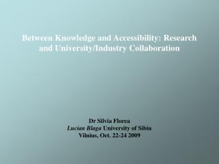 advance of knowledge in interdisciplinary projects  circulation of knowledge more widely