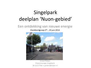 Singelpark deelplan �Nuon-gebied�