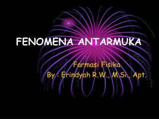 FENOMENA ANTARMUKA