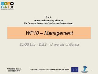 WP10 – Management
