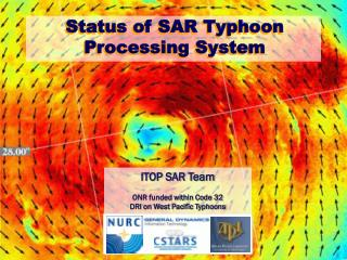 Status of SAR Typhoon Processing System