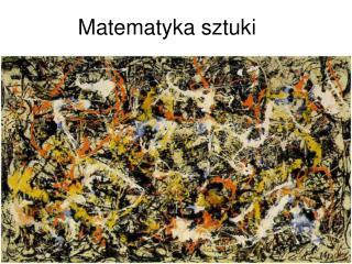 Matematyka sztuki