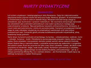 NURTY DYDAKTYCZNE