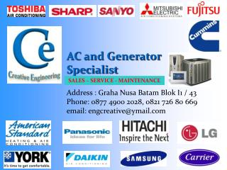 AC and Generator Specialist