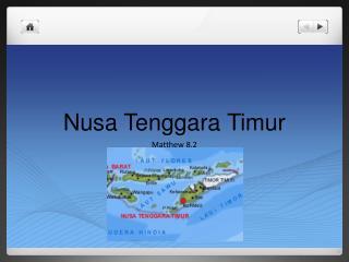 Nusa Tenggara  Timur