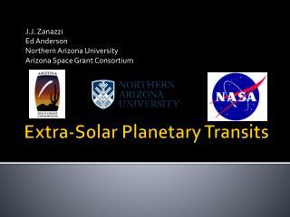 Extra-Solar Planetary Transits