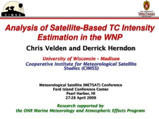 Analysis of Satellite-Based TC Intensity Estimation in the WNP
