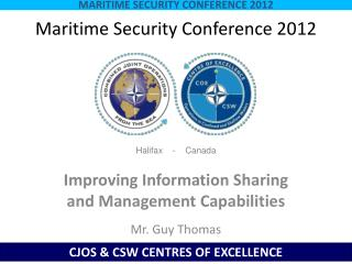 Maritime Security Conference 2012