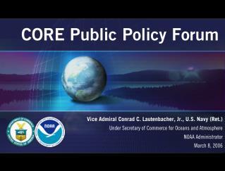 CORE Public Policy Forum