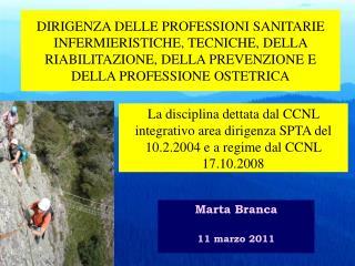 Marta Branca 11 marzo 2011