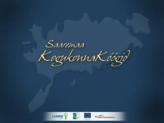 Kogukonnaköögid on võrgustikku kuuluvad köögid Saaremaa eri paigus, mille  eesmärgiks on  edendada