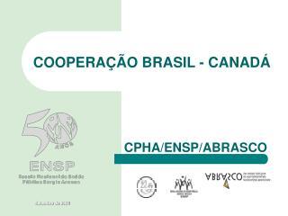 COOPERAÇÃO BRASIL - CANADÁ