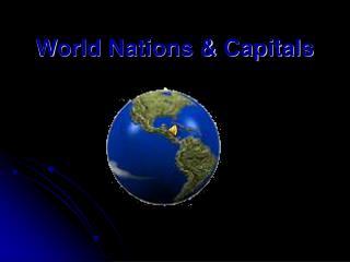 World Nations & Capitals