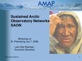 Sustained Arctic  Observatory Networks SAON