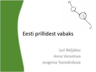Eesti prillidest vabaks