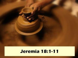 Jeremia 18:1-11