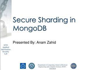 Secure Sharding in MongoDB