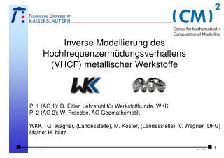Inverse Modellierung des Hochfrequenzermüdungsverhaltens (VHCF) metallischer Werkstoffe