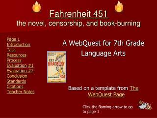 Fahrenheit 451 the novel, censorship, and book-burning
