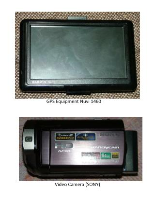 Video Camera (SONY)