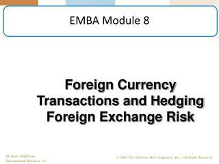 EMBA Module 8
