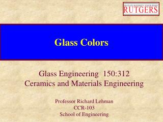 Glass Colors