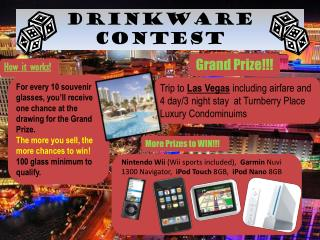 Drinkware  Contest