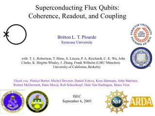 Superconducting Flux Qubits:  Coherence, Readout, and Coupling