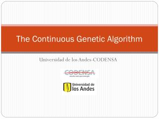 The Continuous Genetic Algorithm