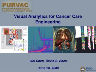 Visual Analytics for Cancer Care Engineering