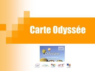 Carte Odyss e