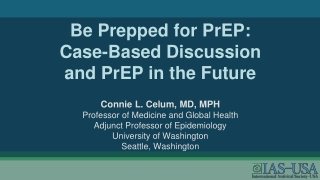 Update: HIV Vaccines and other Prevention Research