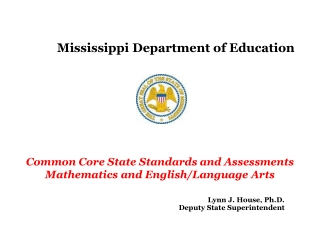 The Proposed  K-12 Common Core Standards