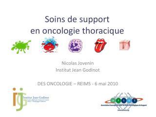Soins de support en oncologie thoracique