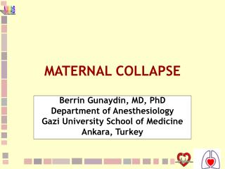 MATERNAL COLLAPSE