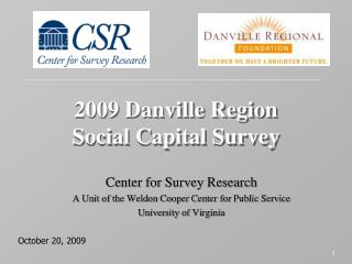 2009 Danville Region Social Capital Survey
