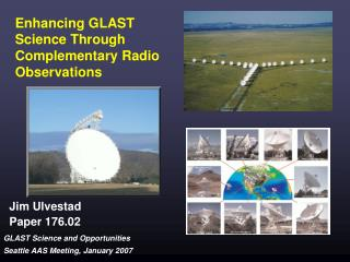 Enhancing GLAST Science Through Complementary Radio Observations