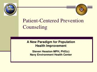 Patient-Centered Prevention Counseling