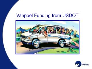 Vanpool Funding from USDOT