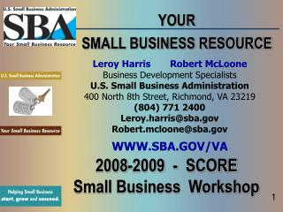 YOUR SMALL BUSINESS RESOURCE