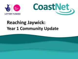 Reaching Jaywick:  Year 1 Community Update