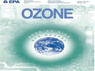 Ozone Trends in a Residential Area in Las Vegas, 2001